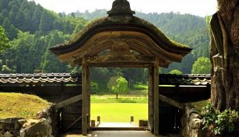 Karamon Gate in Fukui Prefecture
