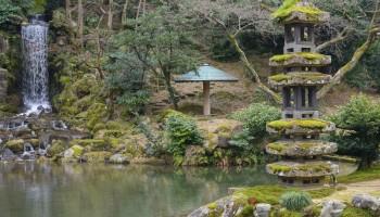 Kenrokuen Gardens, Kanazawa, Ishikawa Pref