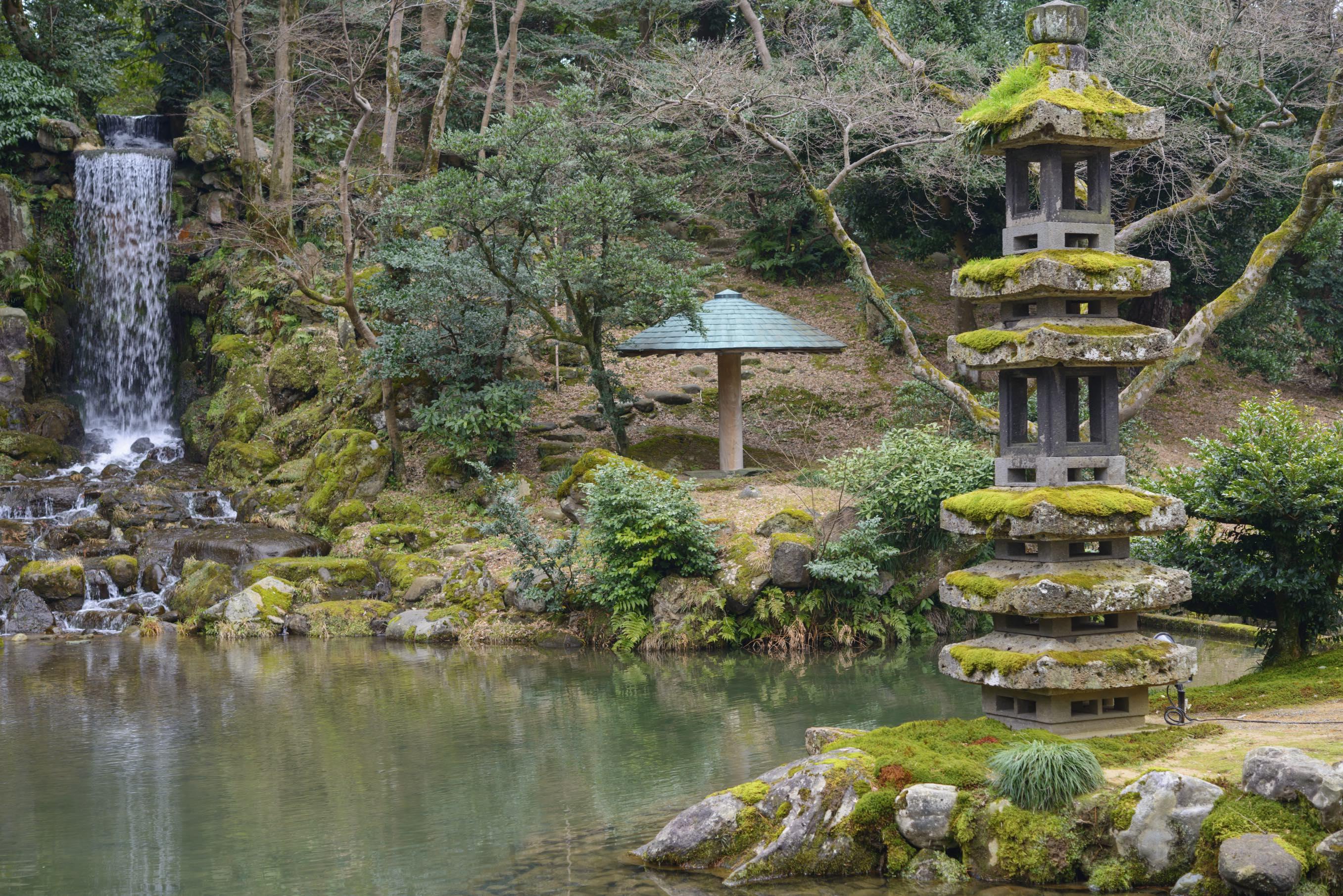 Kanazawa gaijinpot travel for Jardin kenrokuen en kanazawa