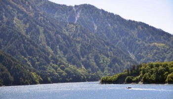 Lake Kurobe in Toyama Prefecture