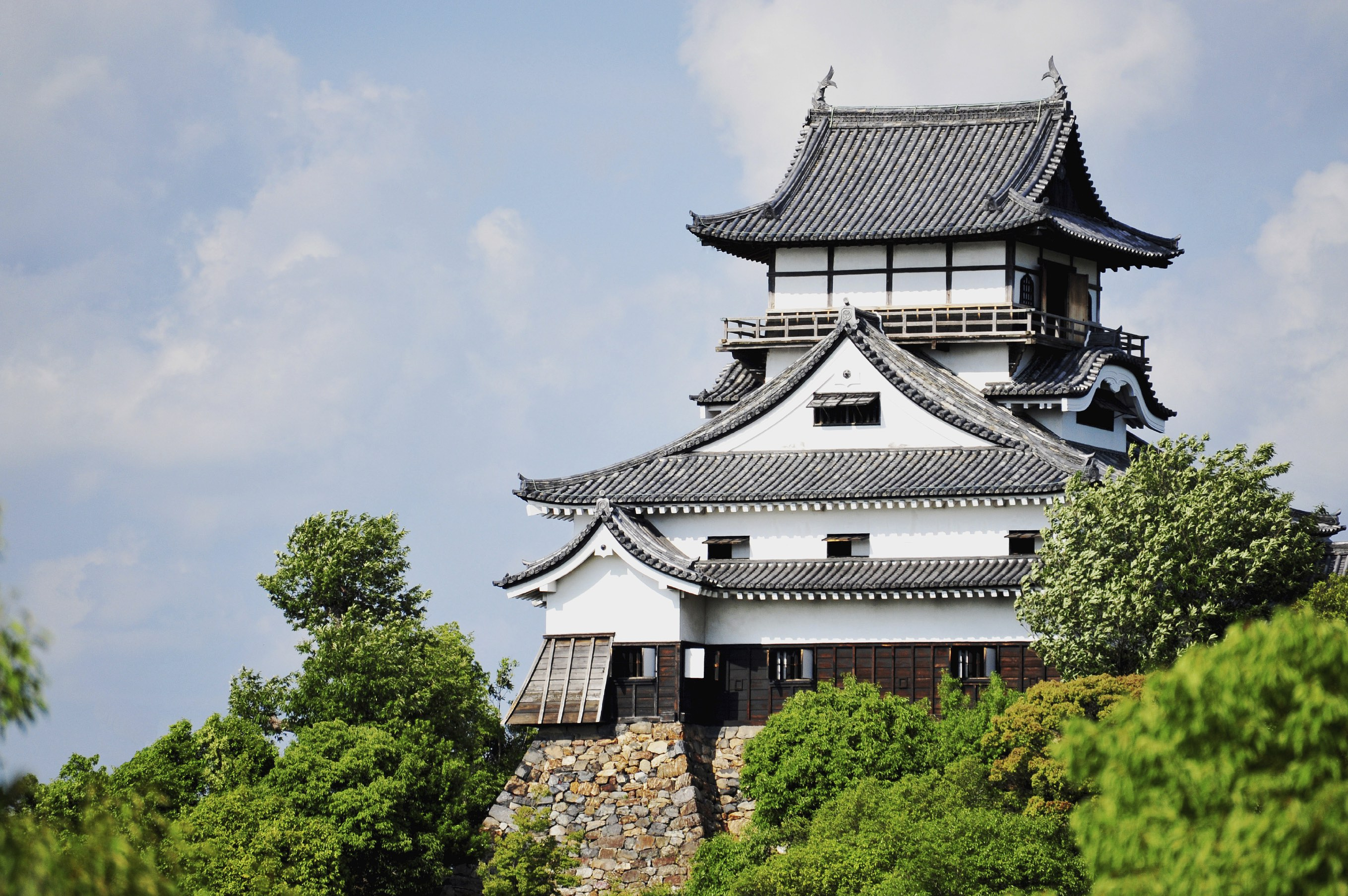 Inuyama Castle in Aichi is one of Japan's oldest surviving wooden castles.