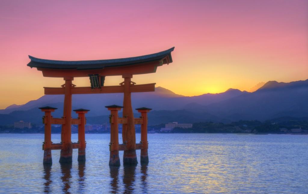 Itsukushima Shinto shrine at Miyajima