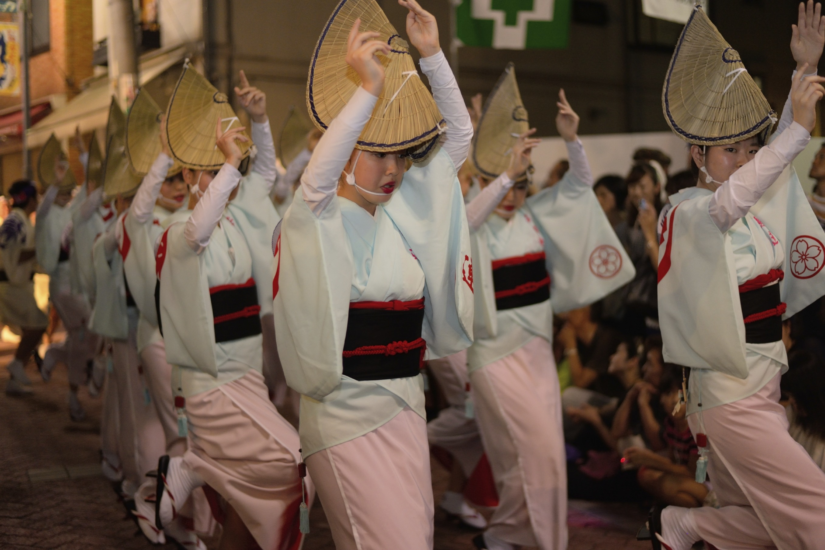Watch a traditional Awa Odori dance festival