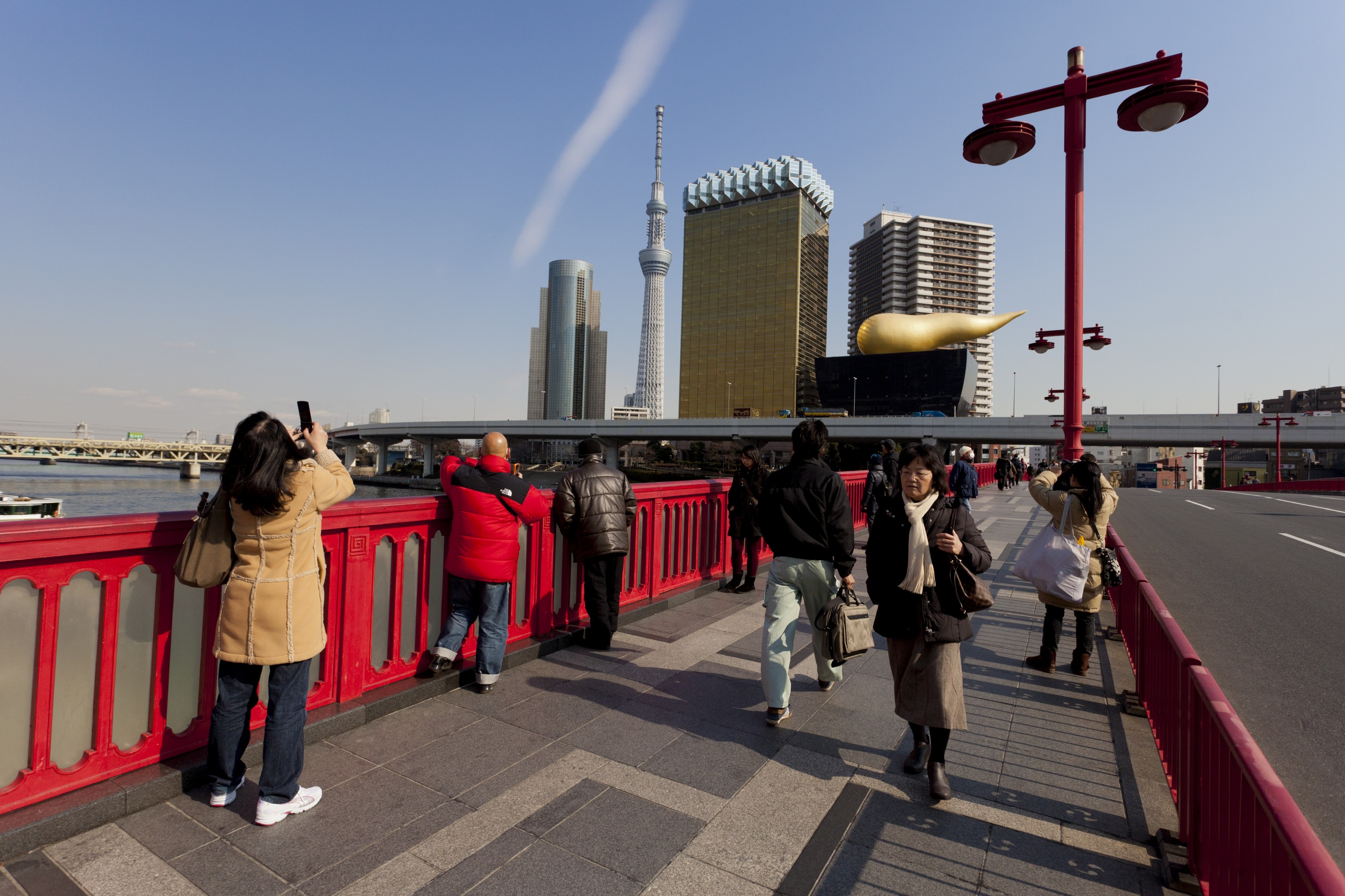 Spend some time exploring the area around the Tokyo Skytree.