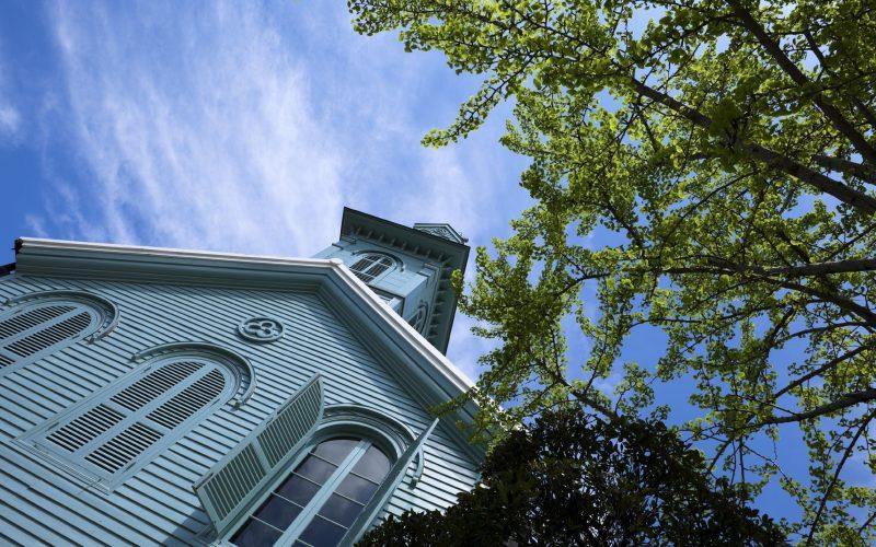Dutch Church in Dejima Island