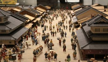 Edo Tokyo Museum Diorama