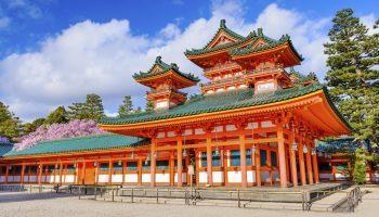 Heain Shrine in Kyoto