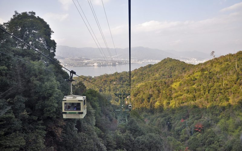 Miyajima Island Cable Car, Japan