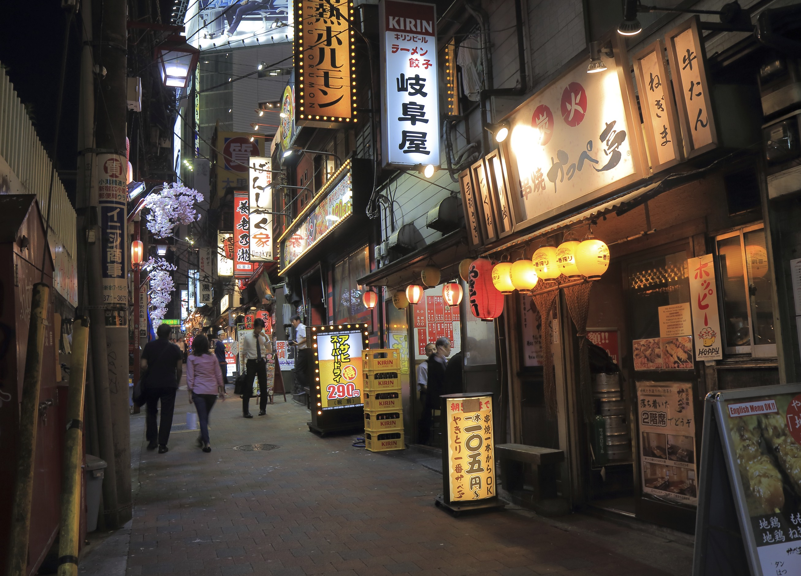 For street food, head to Omoide Yokocho, affectionately (?) known as Piss Alley