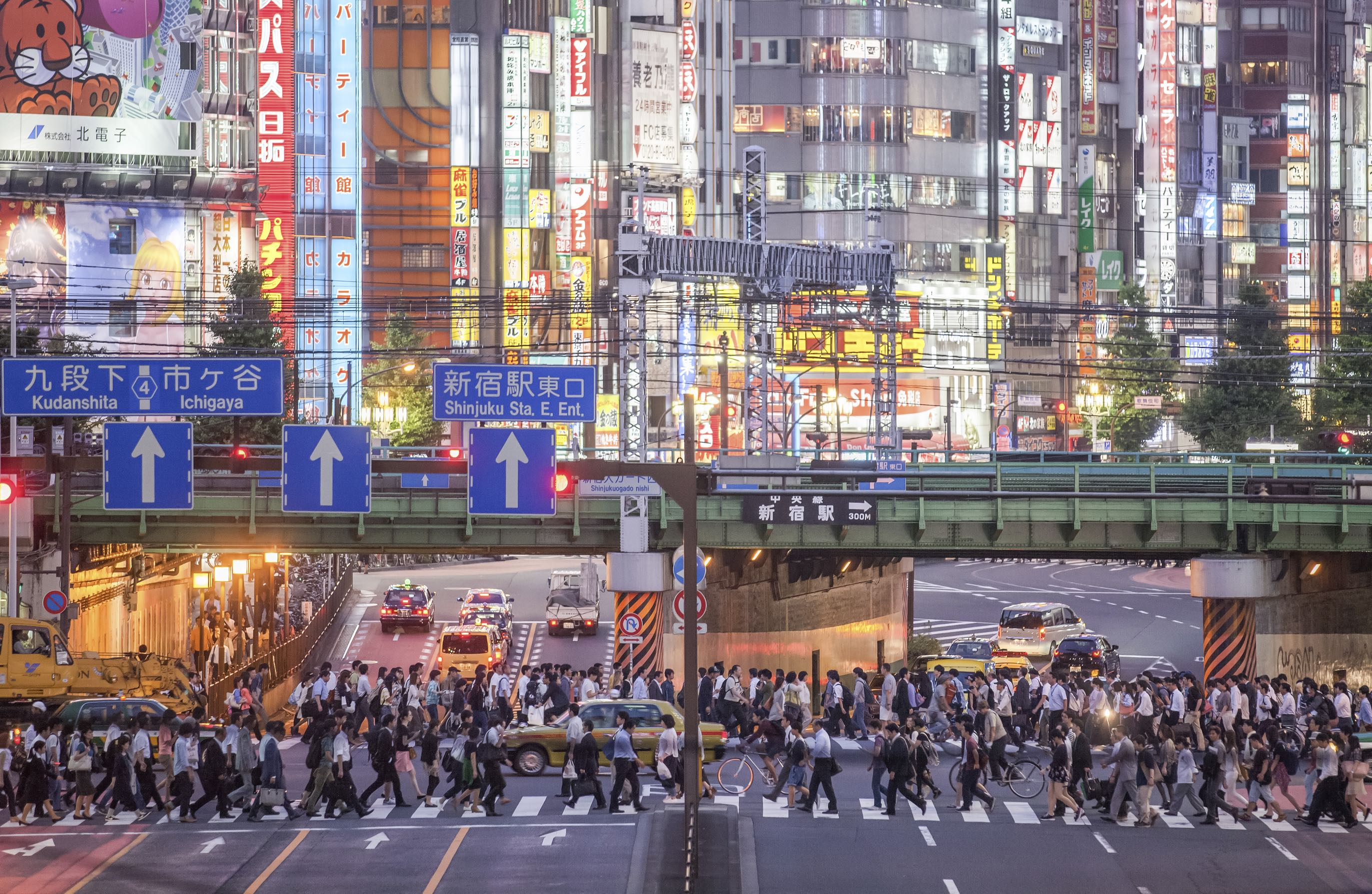Tokyo Shinjuku Station is the world's busiest railway station