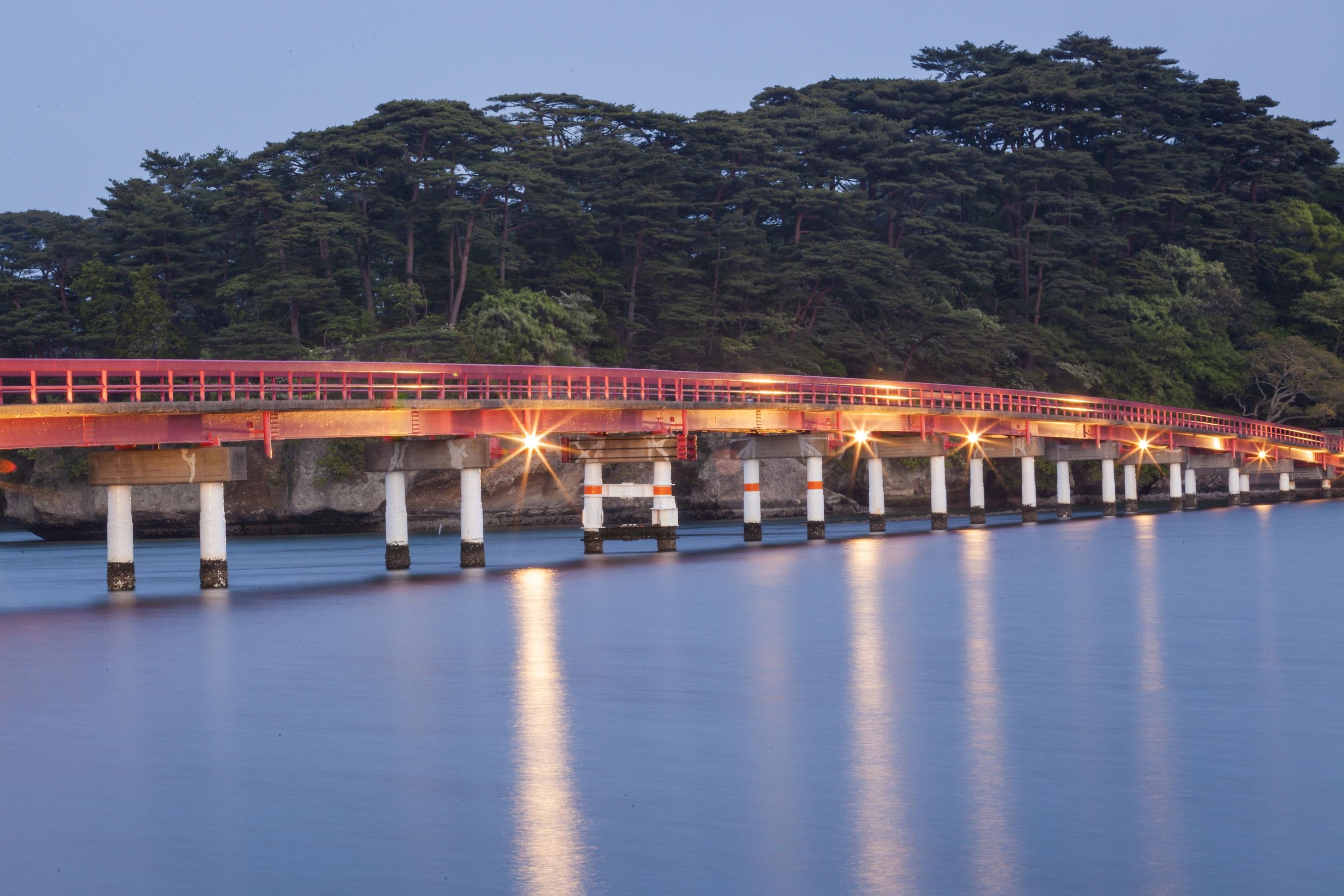 Matsushima bridge, Miyagi prefecture, Japan.