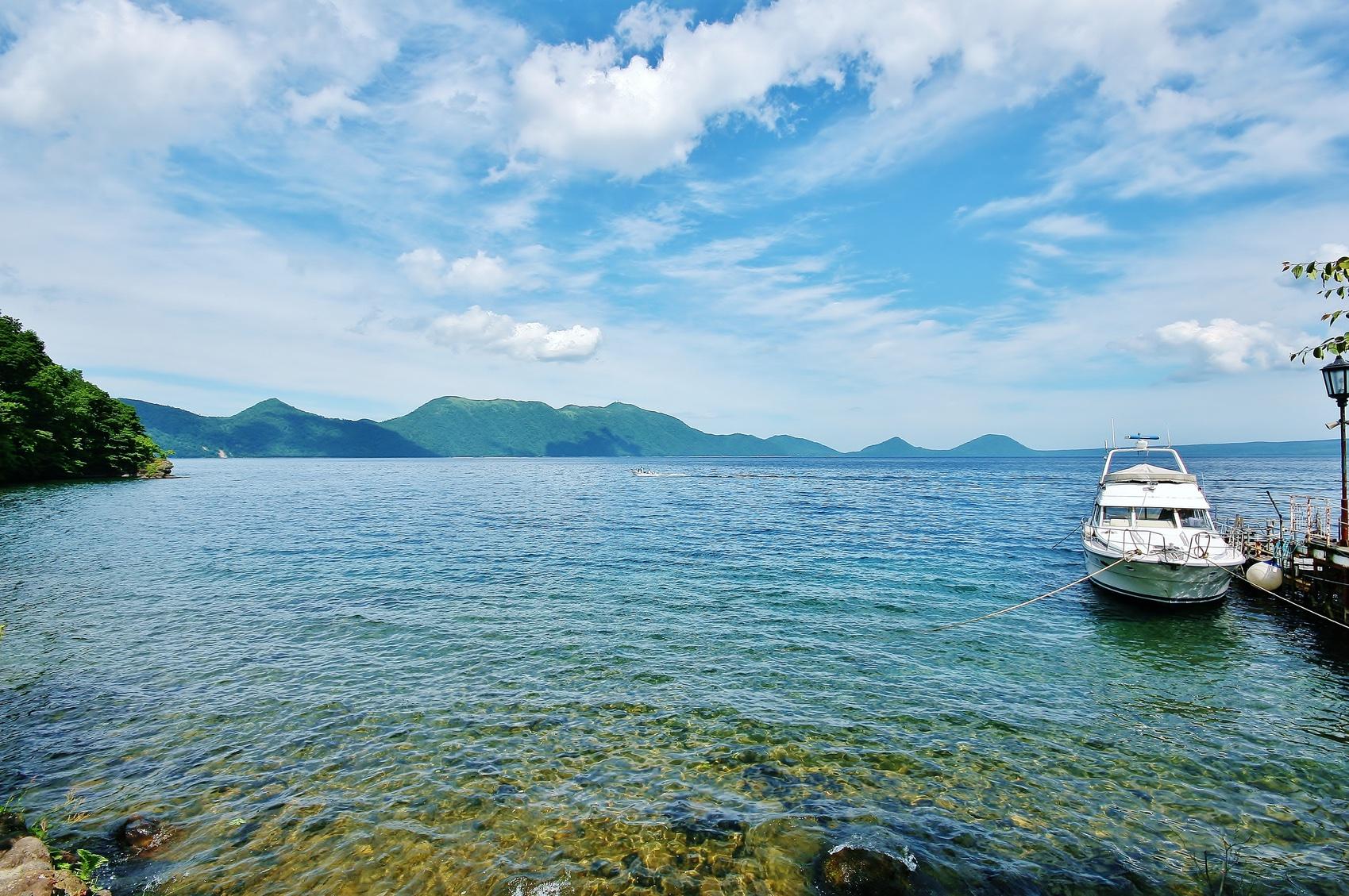 Lake Shikotsu Hokkaido