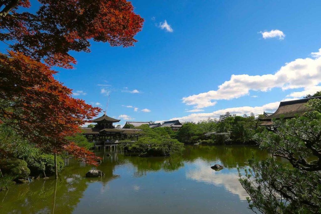 Heian shrine of Kyoto